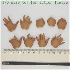 L18-42 1/6 scale Bruce lee kung fu shape - hands*9