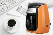 Orange Height 19.7CM ABS Full-Automatic Coffee Pot Coffee Machine Coffee Maker