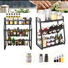 3 Tier Gewürzregale Küchenregal Spice Rack Organizer für Küche Badezimmerschrank
