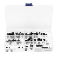 85 Pieces 10 Types Integrated Circuit Chip Assortment Kit Dip Ic Socket Set Ff7