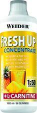 (15 /1stk) Weider Fresh Up Konzentrat (1l) Himbeere L-carnitin