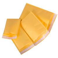 "100 #000 4x7 ""PMG"" Kraft Bubble Mailers Self Seal Padded Envelops 4"" x 7"""