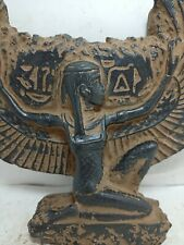 Rare Antique Ancient Egyptian Winged God Isis Bridge Magic Hiroglyphic 1785 Bc