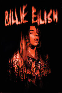Billie Eilish Sparks - Poster 61x91,5 cm