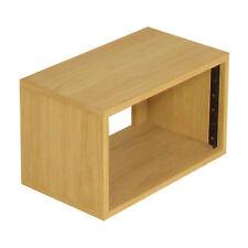 "Oak 6u 19"" Rack Cabinet - Rackmountable Furniture - Sound Desks (SMP6VOak)"