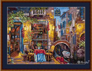 Merejka cross stitch Kit - Our Special Place in Venice *  after V.Shvaiko painti