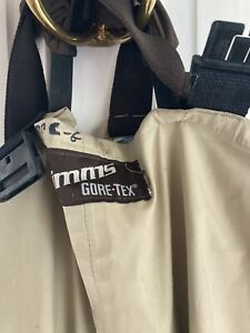 Simms Chest Waders  Stocking foot size  large