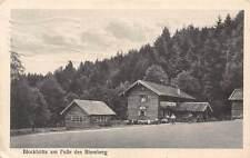 Germany Blockhuette am Fusse des Blomberg 1927