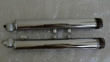 Yamaha RS 100 LS2 LS3 HS2 HX90 Bottom Front Fork Outer Tube Pair NOS