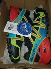 SALOMON SPEEDCROSS 3 Mens Outdoor Hiking 371078 29 GO UK Size 8 Black EU 42