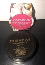 JOSIE MARAN WHIPPED ARGAN OIL BODY BUTTER APPLE CRISP 2 FL OZ New Sealed