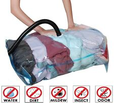 10 Pack: X6 Jumbo XL Large Thick Vacuum Space Saver Storage Bag + X4 Travel Bags