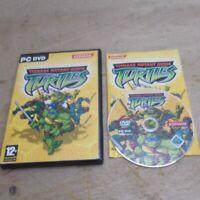 Teenage Mutant Ninja Turtles TMNT Windows PC Game Konami Complete inc UK P+P