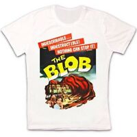 The Blob Sci-Fi Alien Horror Movie Poster Retro Vintage Unisex T Shirt 1235