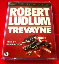 Robert Ludlum Trevayne 2-Tape Audio Book Philip Bosco Thriller Jonathan Ryder