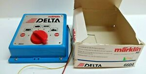 Märklin 6604 Delta Control Unit Good Boxed