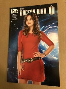 IDW Comics Doctor Who Issue# 10 2012 Series 11th Doctor Clara Photo Variant