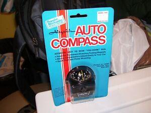 Vintage nos 70s Airguide auto Compass gauge dash part service gm show accessory
