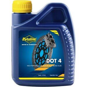 Putoline DOT 4 High Performance Synthetic Motorcycle Motorbike Brake Fluid 500ml
