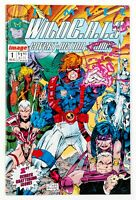 WildC.A.T.S: Covert Action Teams #1 (1992 Image) Bound-In Cards, Jim Lee! NM
