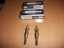 TWO BRAND NEW GERMAN BERU DIESEL HEATER GLOW PLUGS FORD FIESTA ORION SIERRA MOND