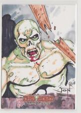 DEADWORLD JON RACIMO SKETCH CARD NEW YORK COMIC CON 2012 EXCLUSIVE SKETCH CARD