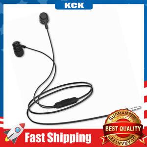 Earbuds Headphones W/ Microphone Heavy Bass Wired Stereo Earphones,3.5mm