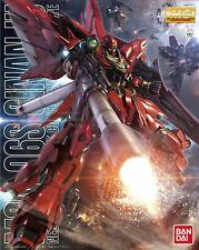 Bandai Gundam Unicorn MSN-06S Sinanju Animation Color MG 1/100 Model Kit USA