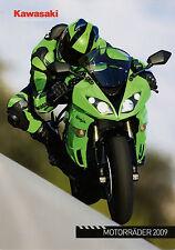 Kawasaki Prospekt 2009 1400 GTR VN 900 1700 ER 6f KLX Broschüre Motorradprospekt