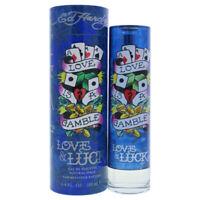 Christian Audigier Ed Hardy Love & Luck EDT Spray 3.4 oz RETAIL