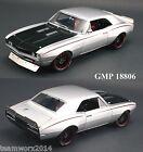 GMP 1967 Chevrolet Street Fighter Camaro Diecast Car 1:18 18806 Silver