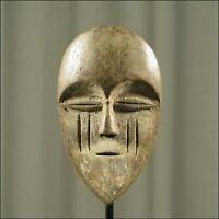 59878) Afrikanische Tsogo Holz Passport Maske Gabun Afrika KUNST
