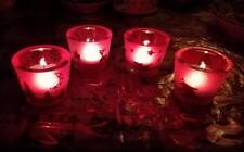 3,25€/Stk  4 Weihnachtsbecher für Teelichter Fest Weihnachten Beleuchtung Kerzen