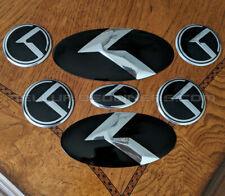 3.0 K Logo KLexus OVERLAY Full Set for Kia Telluride
