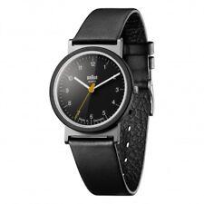 Braun Design AW10 klassische Herren Armbanduhr mit Lederband, Neu+OVP,66598