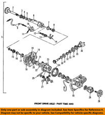 GM OEM Front Axle-Sleeve 26036092