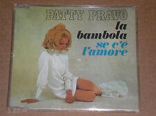 PATTY PRAVO - LA BAMBOLA / SE C'E' L'AMORE- CD SINGOLO PICTURE COME NUOVO (MINT)