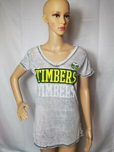 Portland Timbers Army MLS Womens Top Shirt 5th & Ocean New Era Medium Soccer