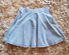 Ladies size10 Top Shop denim flared skirt. Smart & in excellent condition