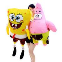 Boys Girls Gift SpongeBob Squarepants Patrick Star Soft Plush Toys Stuffed Dolls