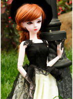 "New 1/3 Handmade PVC BJD MSD Lifelike Doll Joint Dolls Girl Gift  24"" Sassy"