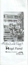Rick & Dick Hoyt Autographed Pamphlet Father & Son Athletic Endeavors Team