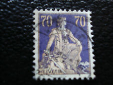 SUISSE - timbre - yvert et tellier n° 207 obl (A7) stamp switzerland