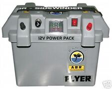 FLYER POWER PACK - DUAL BATTERY SYSTEM + ANDERSON PLUGS + CHARGE CABLE - ABR