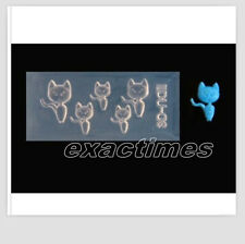 3D  Nail Art Acylic Mold Lovely Cat Design Nail Mould DIY Decoration-34