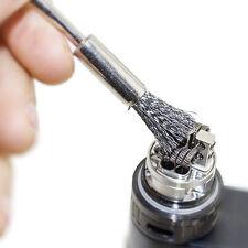 5Pcs/Set Steel Vapor Brush SS Cleaning Coil Brush Vape Tools for RDA/RTA 5cm