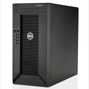 Dell PowerEdge T20 Xeon E3-1225V3 3.2GHz 16GB RAM 4TB HDD Tower Server