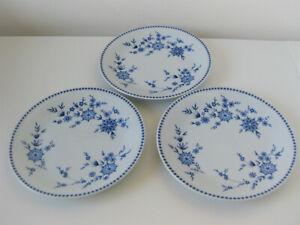 Seltmann Weiden * Bayrisch Blau*- DORIS  - 3 Kuchenteller Ø 19 cm - neuwertig