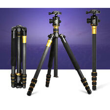 Q-999C Portable Detachable Traveling Tripod With Ball Head  For DSLR Camera