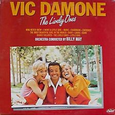 VIC DAMONE - THE LIVELY ONES - CAPITOL - U.K. LP